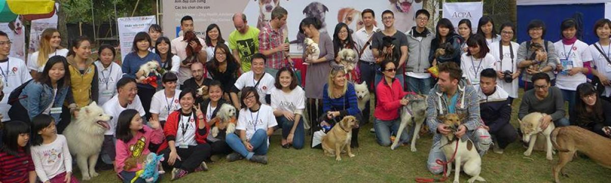 "FOR THE LOVE OF DOGS… ACPA'S FIRST ""DOG'S DAY OUT"" EVENT IN HANOI!"